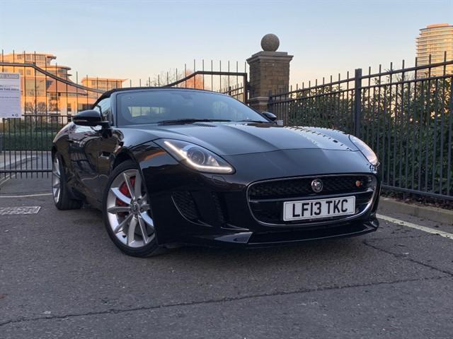 used Jaguar F-Type V6 S in battersea-south-london