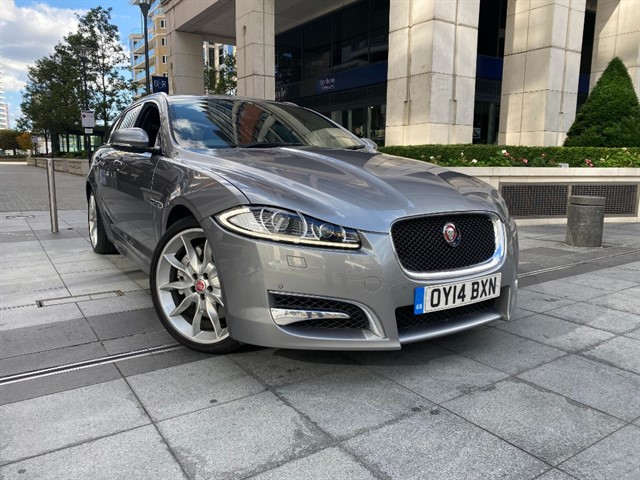 used Jaguar XF D V6 S PREMIUM LUXURY SPORTBRAKE in battersea-south-london