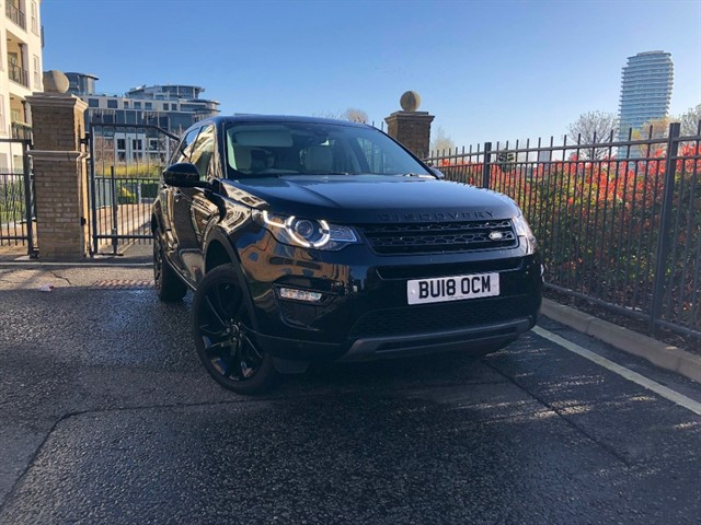 used Land Rover Discovery Sport TD4 HSE BLACK in battersea-south-london