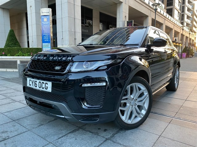 used Land Rover Range Rover Evoque TD4 HSE DYNAMIC LUX in battersea-south-london