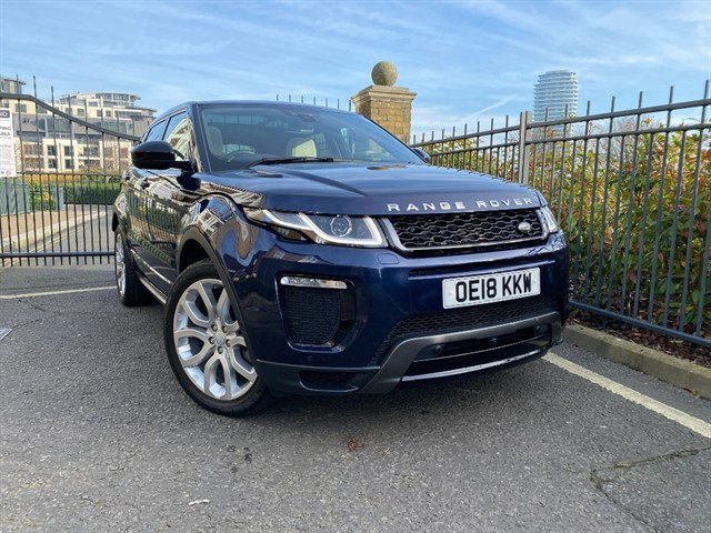 used Land Rover Range Rover Evoque SI4 HSE DYNAMIC LUX in battersea-south-london