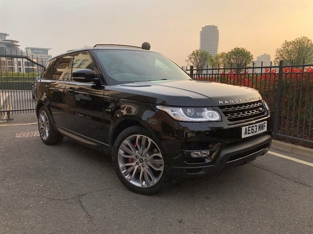 used Land Rover Range Rover Sport SDV6 HSE DYNAMIC in battersea-south-london