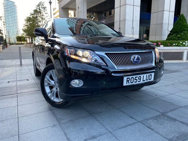 used Lexus RX 450H SE-L in battersea-south-london
