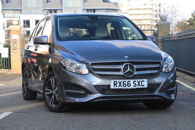 used Mercedes B200 B  SE EXECUTIVE in battersea-south-london