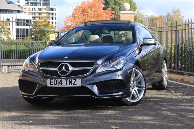 used Mercedes E350 BLUETEC AMG SPORT in battersea-south-london