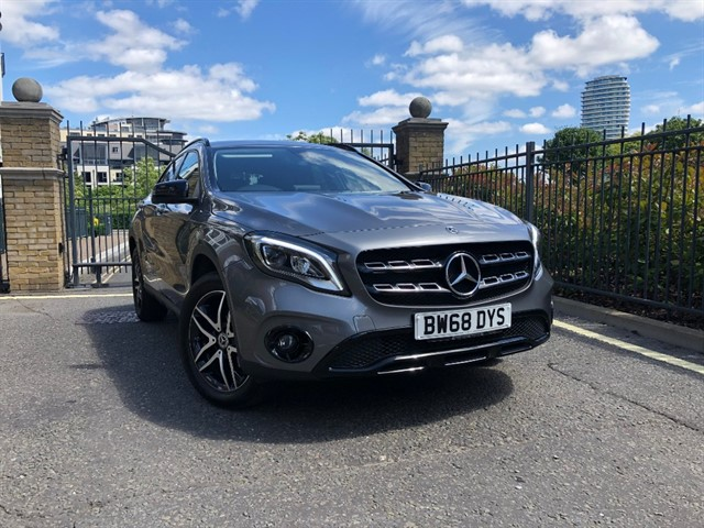 used Mercedes  GLA 180 URBAN EDITION in battersea-south-london