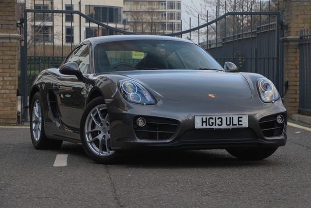 used Porsche Cayman 24V PDK in battersea-south-london
