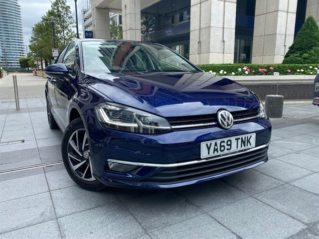 used VW Golf MATCH EDITION TSI in battersea-south-london