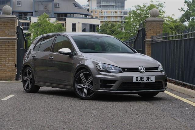 used VW Golf R DSG in battersea-south-london