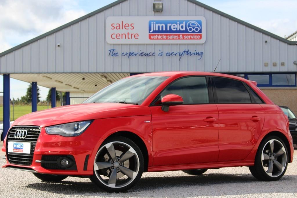 used Audi A1 SPORTBACK TDI S LINE BLACK EDITION in aberdeen-scotland