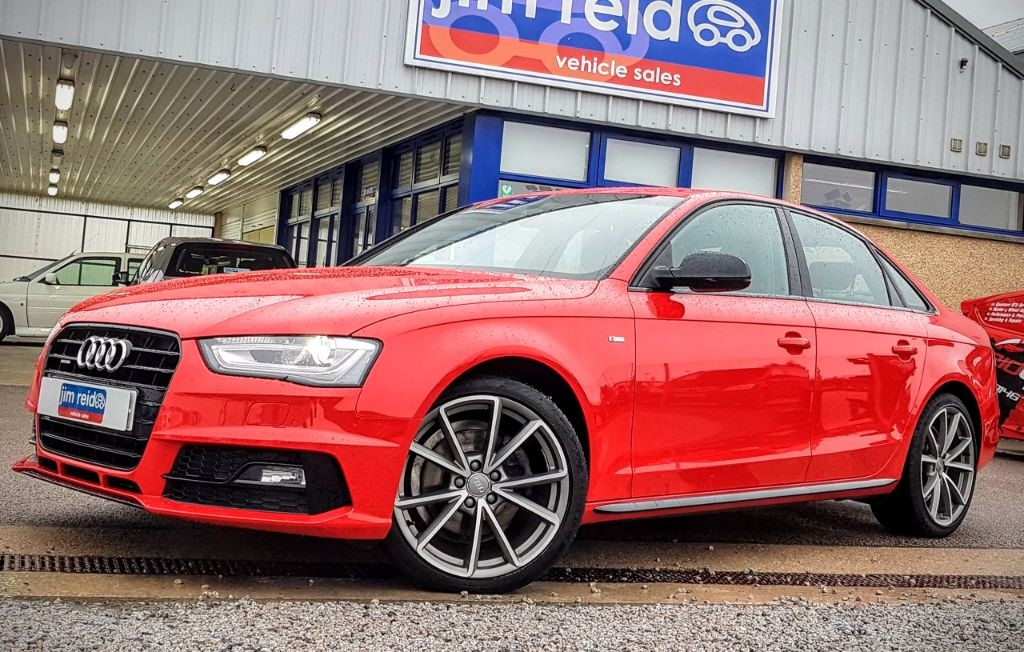 used Audi A4 2.0 TDI Quattro S-Line Black Edition Nav 5dr Diesel Manual in aberdeen-scotland