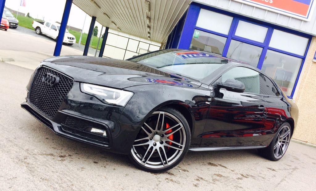 used Audi A5 3.0 TDI Quattro S-Line Black Edition Coupe Auto in aberdeen-scotland