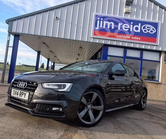 used Audi A5 2.0TDI QUATTRO S LINE BLACK EDITION S/S in aberdeen-scotland