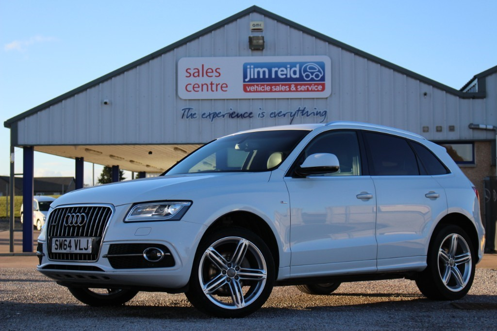 used Audi Q5 TDI QUATTRO S LINE PLUS in aberdeen-scotland