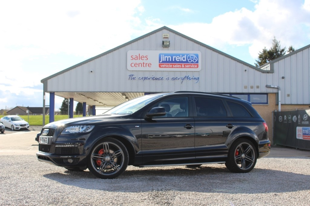 used Audi Q7 3.0 TDi [245] 5dr Automatic in aberdeen-scotland
