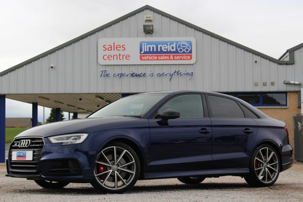 used Audi S3 2.0TFSI [305] Quattro, Black Edition, S-Tronic in aberdeen-scotland