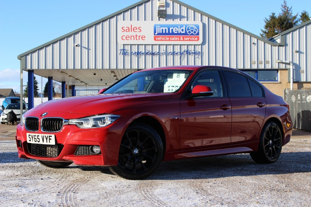 used BMW 320d 320d [190] M Sport Automatic in aberdeen-scotland