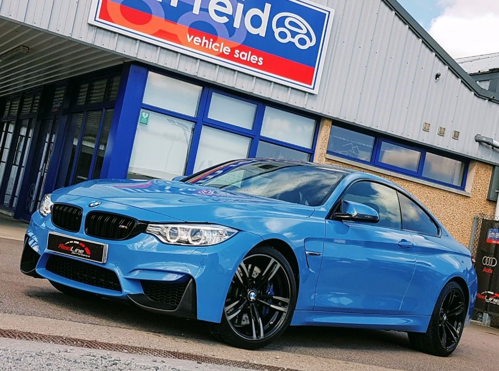 used BMW M4 3.0T 425Bhp Coupe Auto *Extras* in aberdeen-scotland