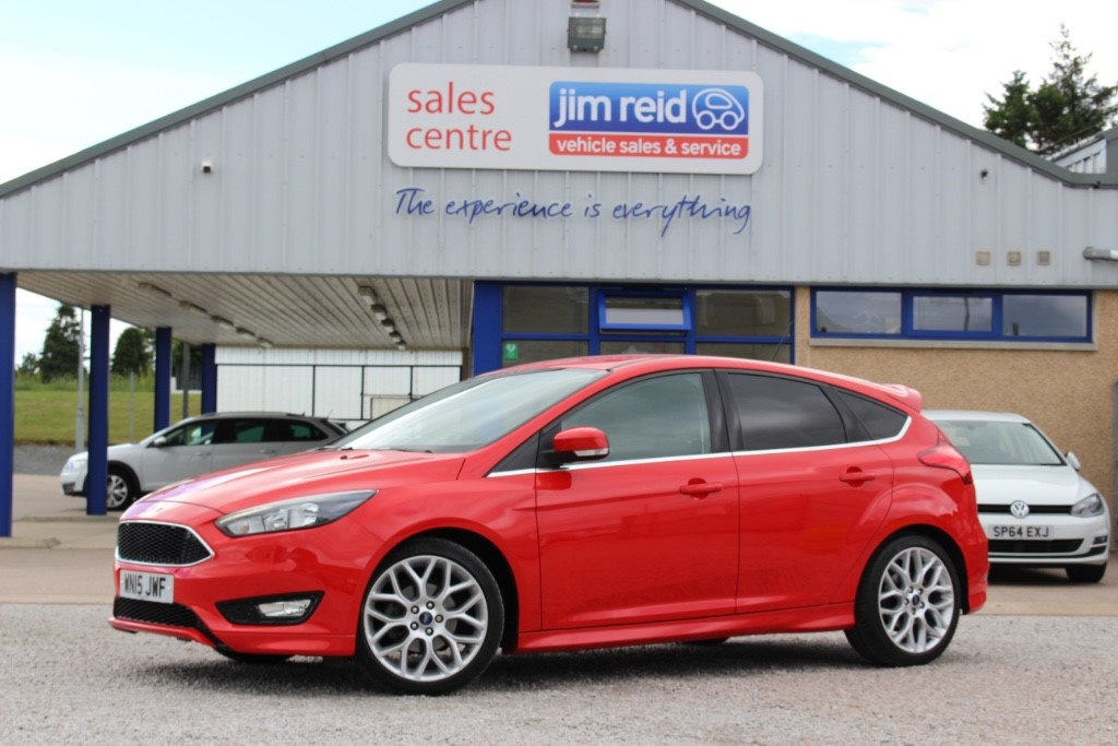 used Ford Focus Zetec 'S' 1.0 Ecoboost [125] 5dr in aberdeen-scotland
