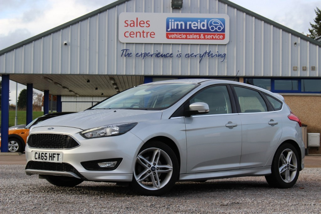 used Ford Focus 1.0T Ecoboost Zetec S [125] in aberdeen-scotland