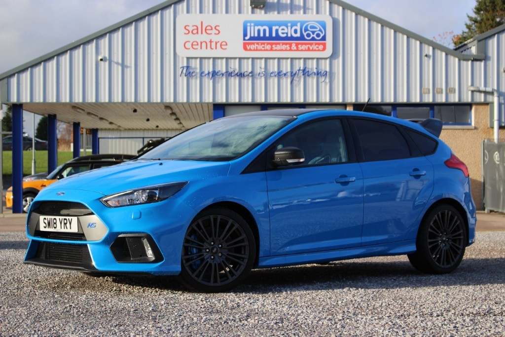 used Ford Focus RS Edition 2.3 Ecoboost [350ps] AWD 5dr in aberdeen-scotland