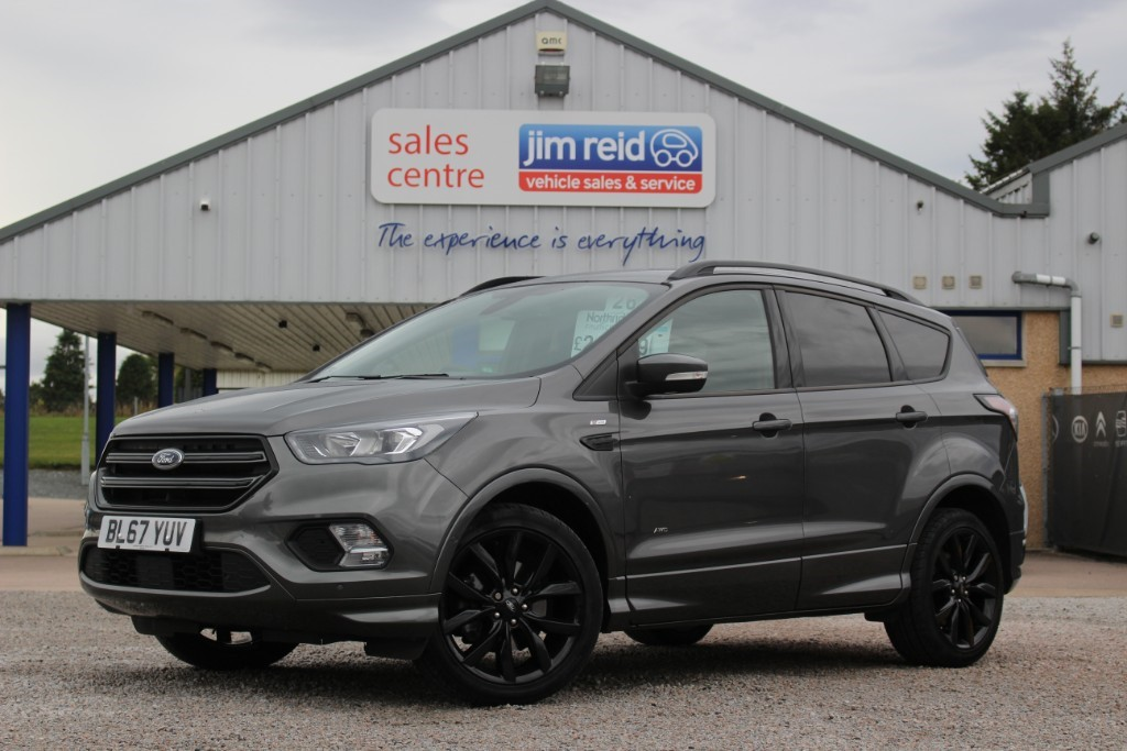 used Ford Kuga ST-LINE 2.0TDCI [180] AWD in aberdeen-scotland