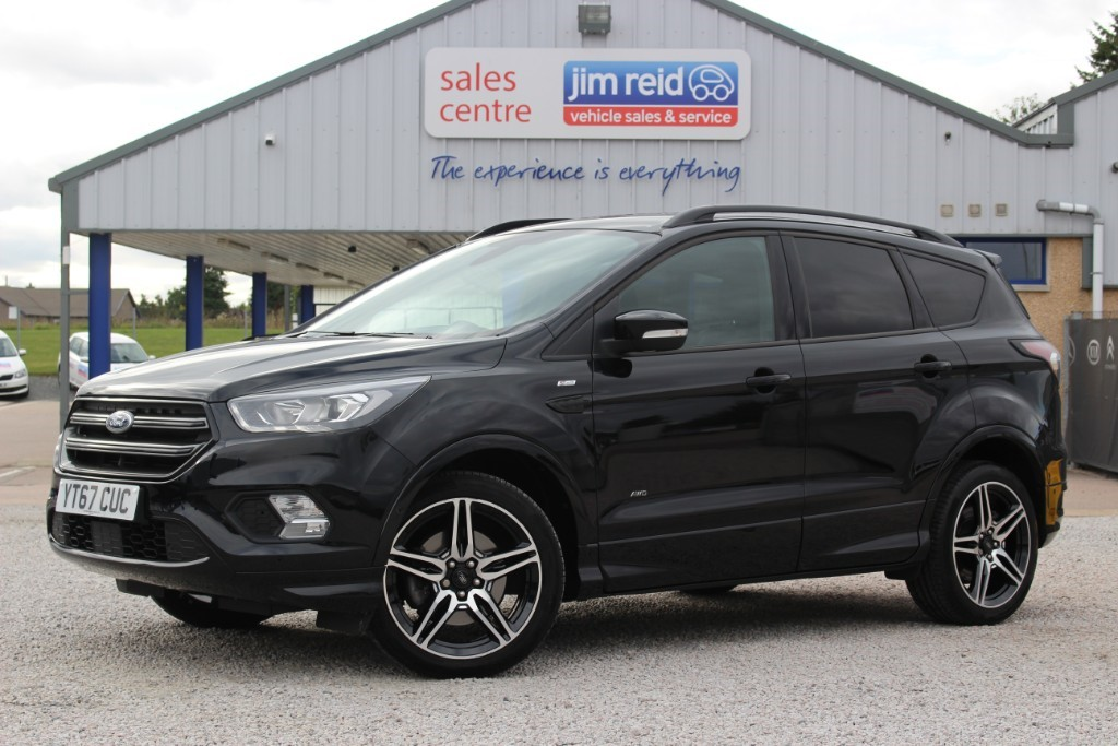 used Ford Kuga ST-LINE TDCI in aberdeen-scotland