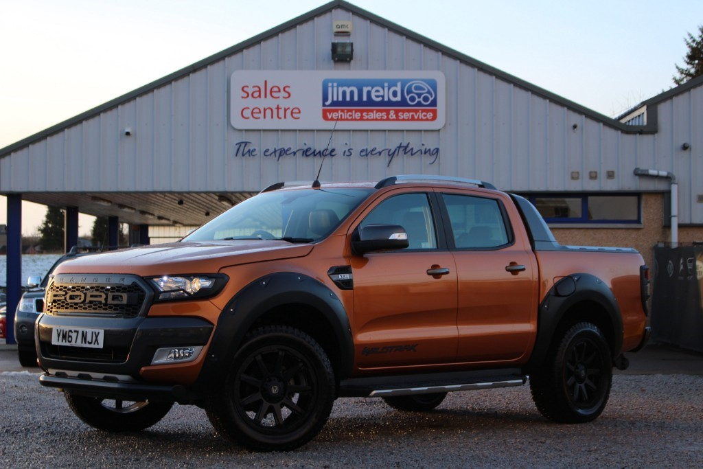 used Ford Ranger WILDTRAK 4X4 DCB TDCI in aberdeen-scotland