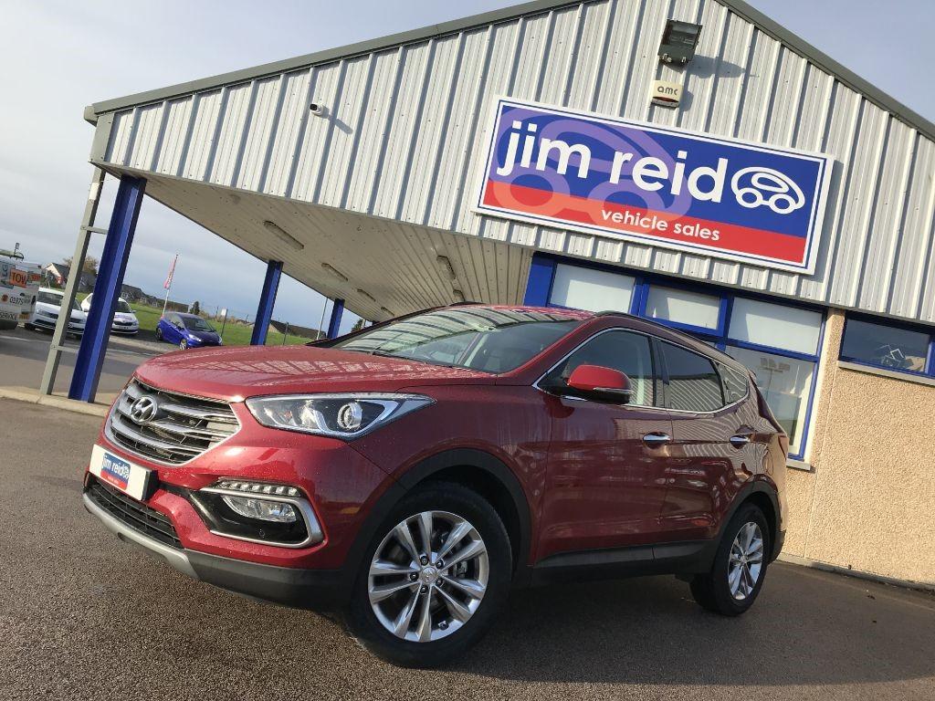 used Hyundai Santa Fe 2.2 CRDI Premium Blue Drive 5dr Diesel Auto in aberdeen-scotland