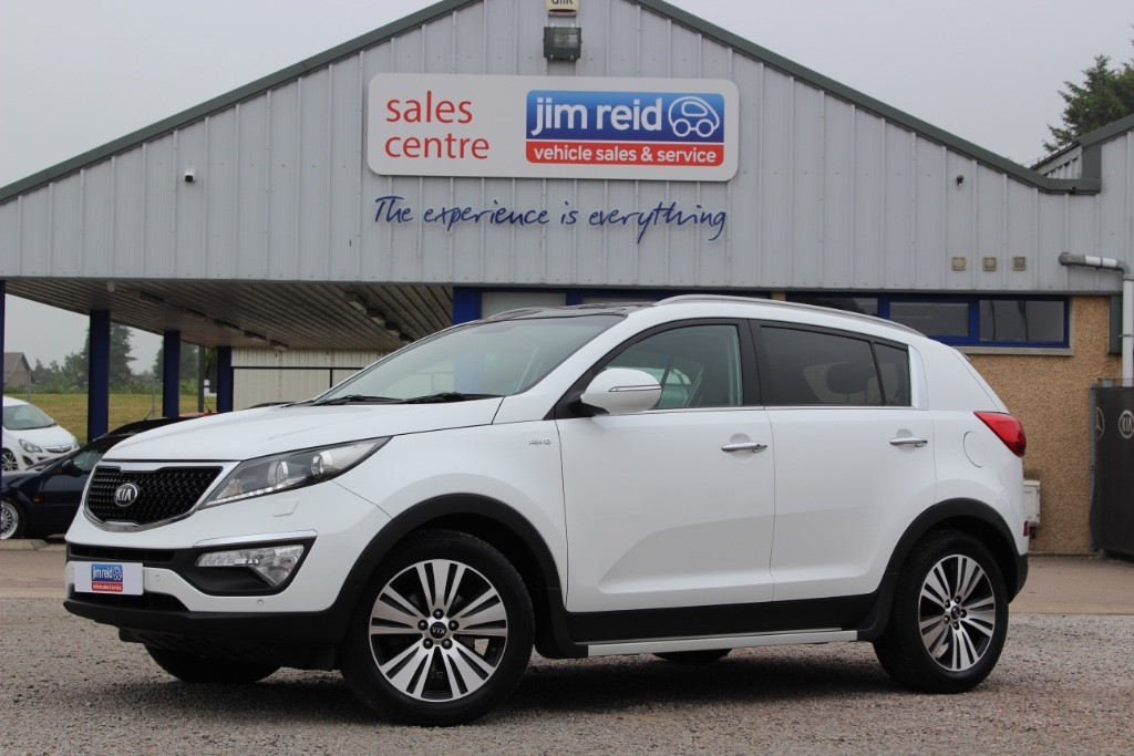 used Kia Sportage 2.0 TDi [181] 5dr manual in aberdeen-scotland