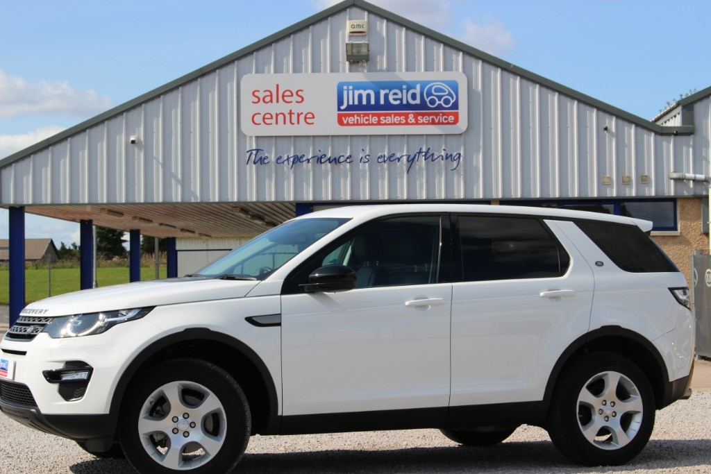 used Land Rover Discovery Sport 2.0TD4 [150] PURE 4x4 SPECIAL EDITION in aberdeen-scotland