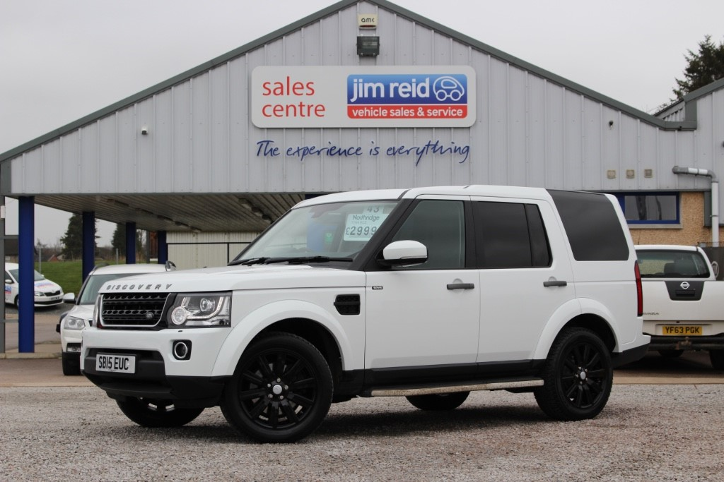 used Land Rover Discovery 3.0 SDV6 [255] Commercial XS with extras in aberdeen-scotland