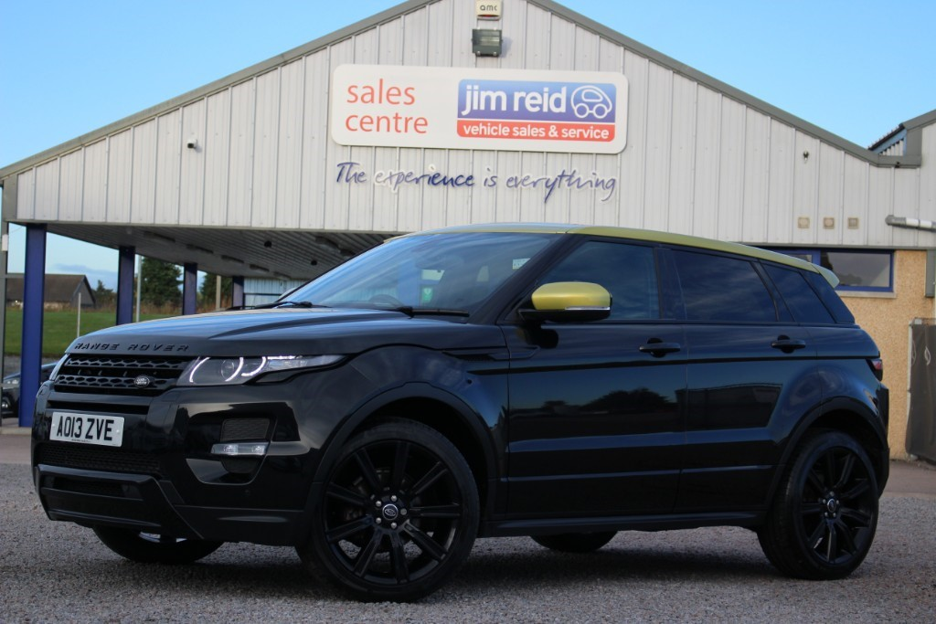 used Land Rover Range Rover Evoque SPECIAL EDITION 2.2SD4 [190] AUTOMATIC DIESEL in aberdeen-scotland