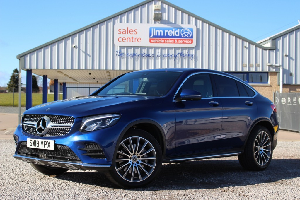 used Mercedes 250 GLC  D 4MATIC AMG LINE PREMIUM in aberdeen-scotland
