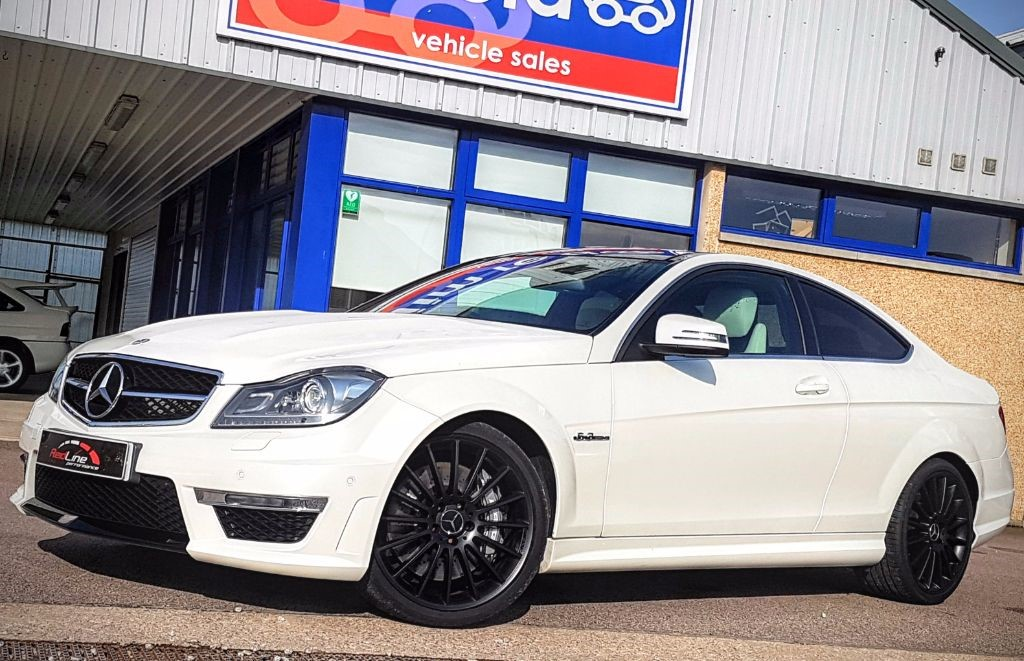used Mercedes C63 AMG 6.3 460Bhp Coupe 3drAuto in aberdeen-scotland