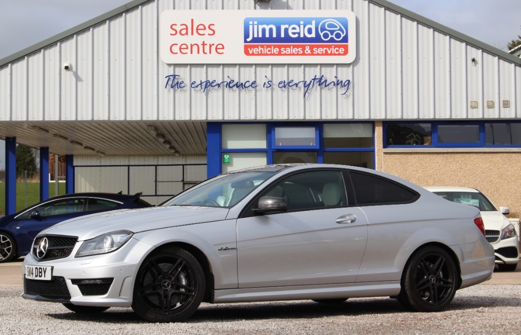 used Mercedes C63 AMG 6.2 V8 [457] 3rd Coupe  Auto in aberdeen-scotland