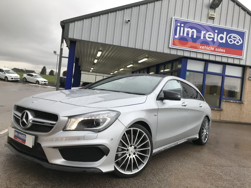 used Mercedes CLA45 AMG 4MATIC *** LOADED WITH SPEC*** in aberdeen-scotland