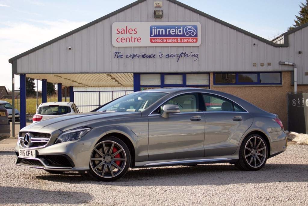 used Mercedes CLS63 AMG 5.5 Bi-turbo [577] 5dr Automatic in aberdeen-scotland