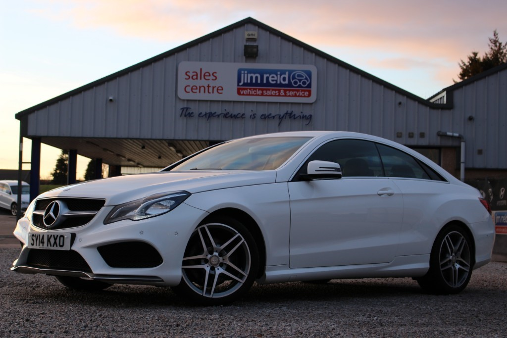 used Mercedes E250 2.2CDI  [205] AMG Sport Coupe Automatic in aberdeen-scotland