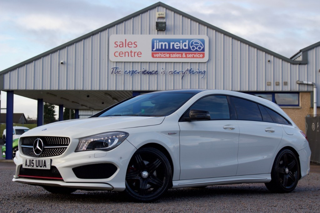 used Mercedes  CLA250 4MATIC ENGINEERED BY AMG in aberdeen-scotland