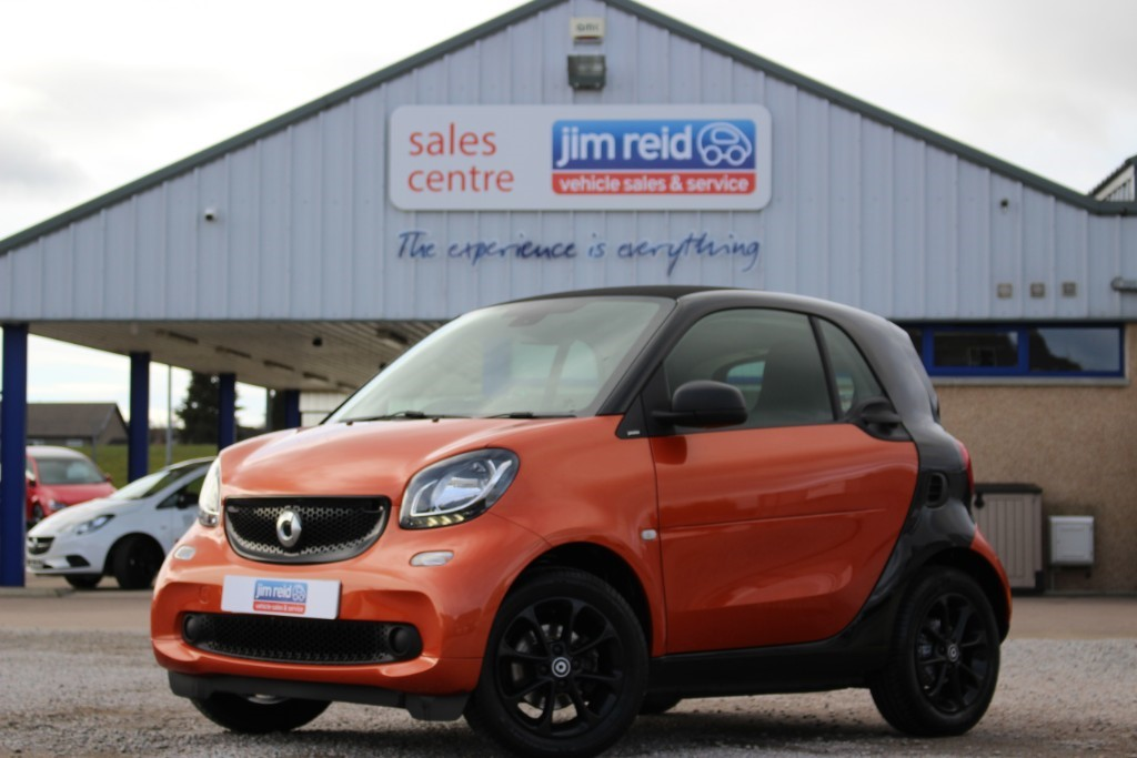 used Smart Car Fortwo Coupe PASSION in aberdeen-scotland