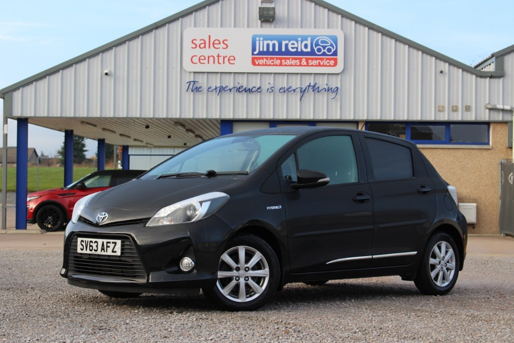 used Toyota Yaris VVT-I T4 in aberdeen-scotland