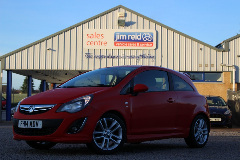 used Vauxhall Corsa 1.4 [98] SRI 3dr in aberdeen-scotland