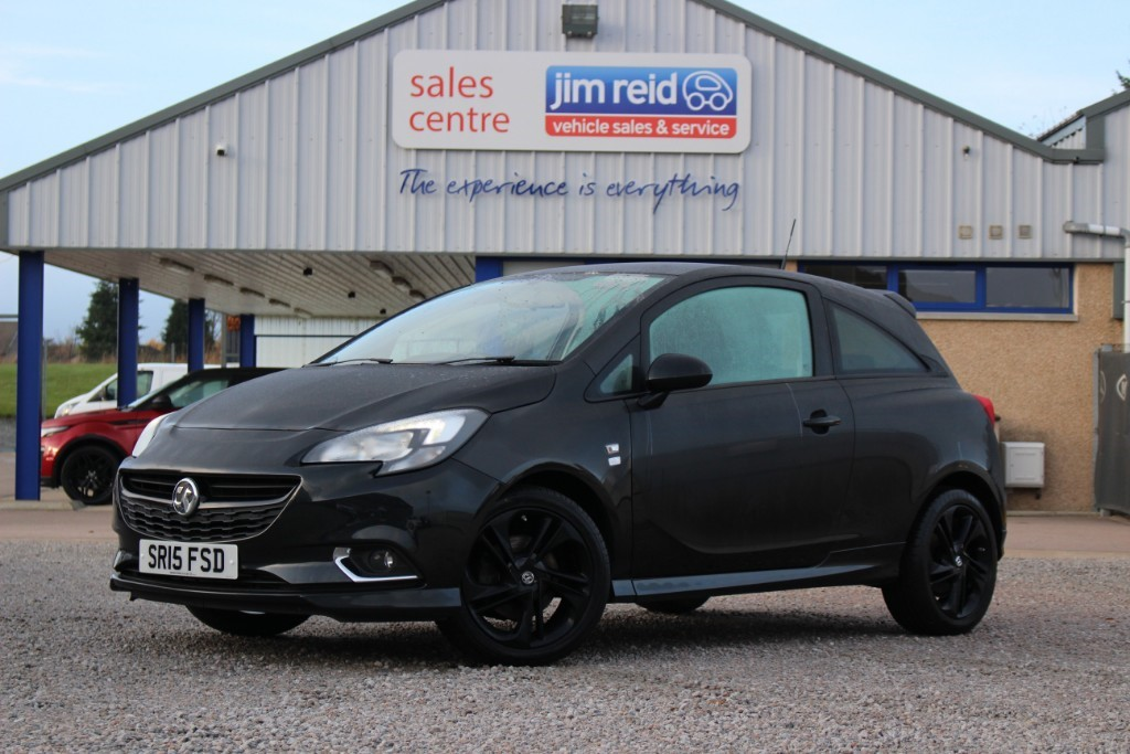 used Vauxhall Corsa 1.4 [100] Limited Edition 3DR in aberdeen-scotland