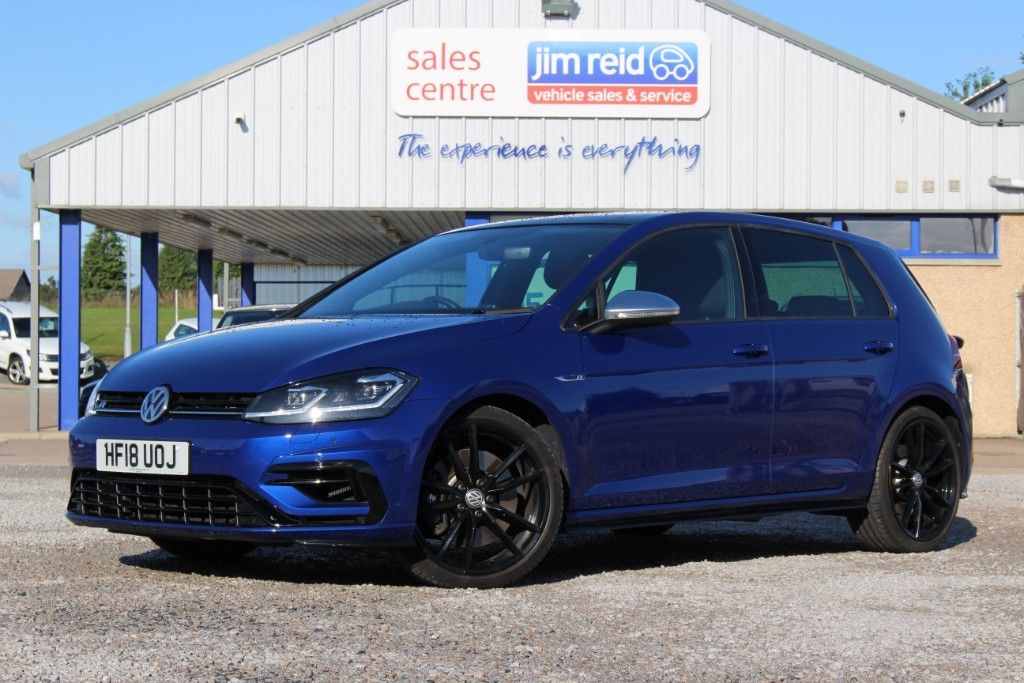 used VW Golf R 2.0Tsi [310ps] DSG 4Motion 5dr in aberdeen-scotland