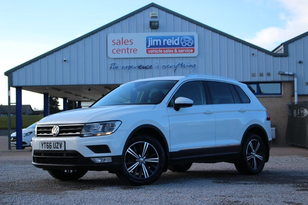 used VW Tiguan SE TDI BLUEMOTION TECHNOLOGY 4MOTION DSG in aberdeen-scotland