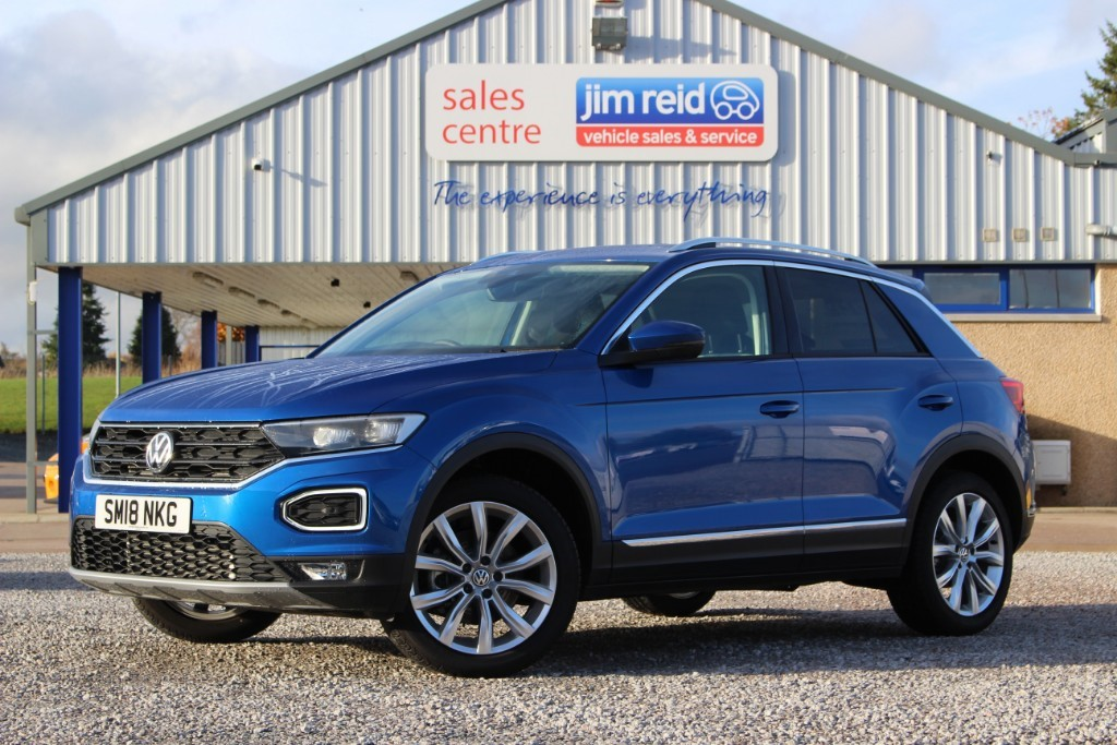used VW  T-Roc SE L 2.0 TSi [190ps] 4Motion 7spd Auto in aberdeen-scotland