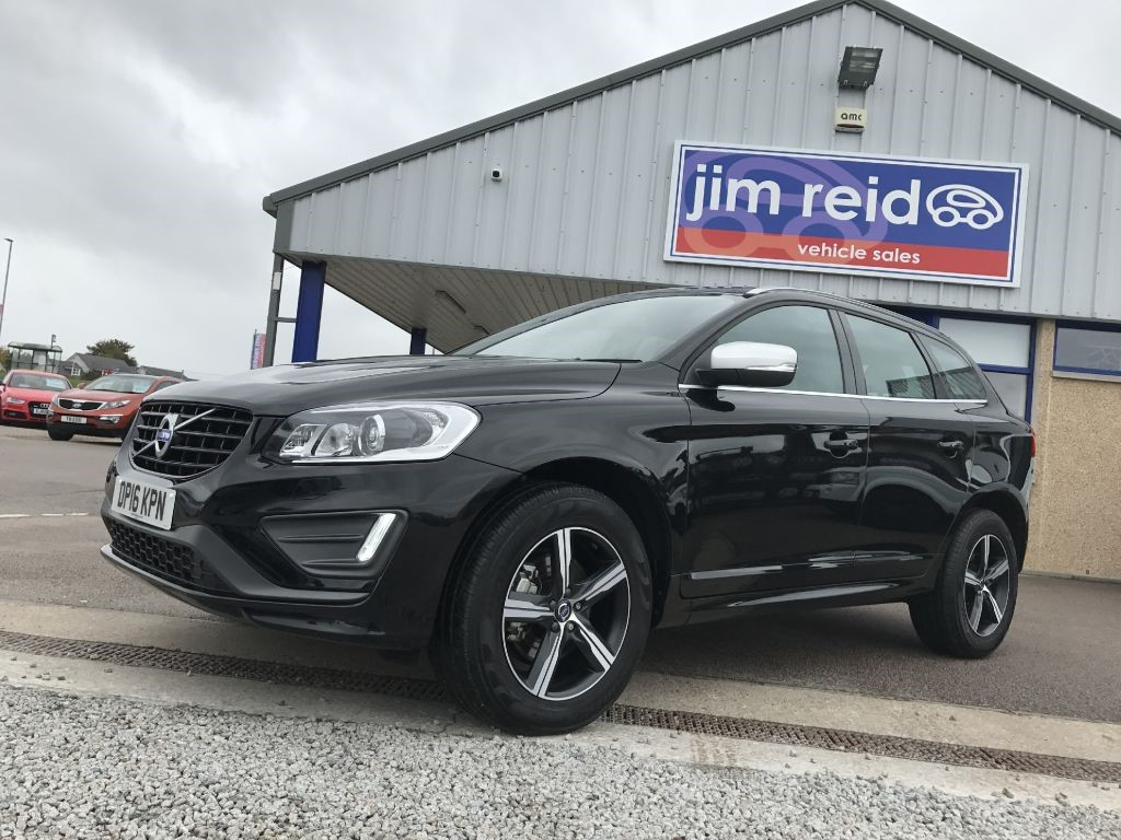 used Volvo XC60 2.4 D4 R-Design Lux Nav AWD Diesel Manual in aberdeen-scotland