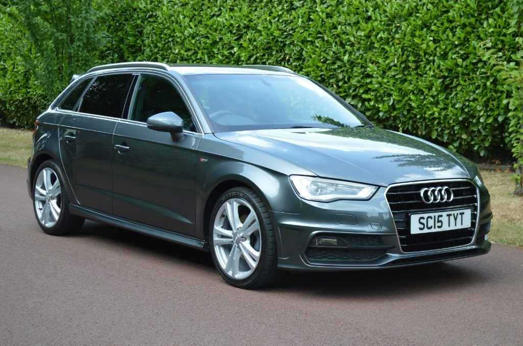 used Audi A3 TDI S LINE in hersham-surrey