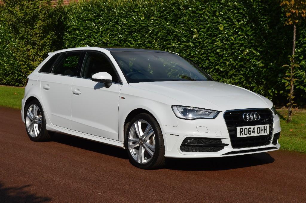 used Audi A3 TFSI S LINE in hersham-surrey